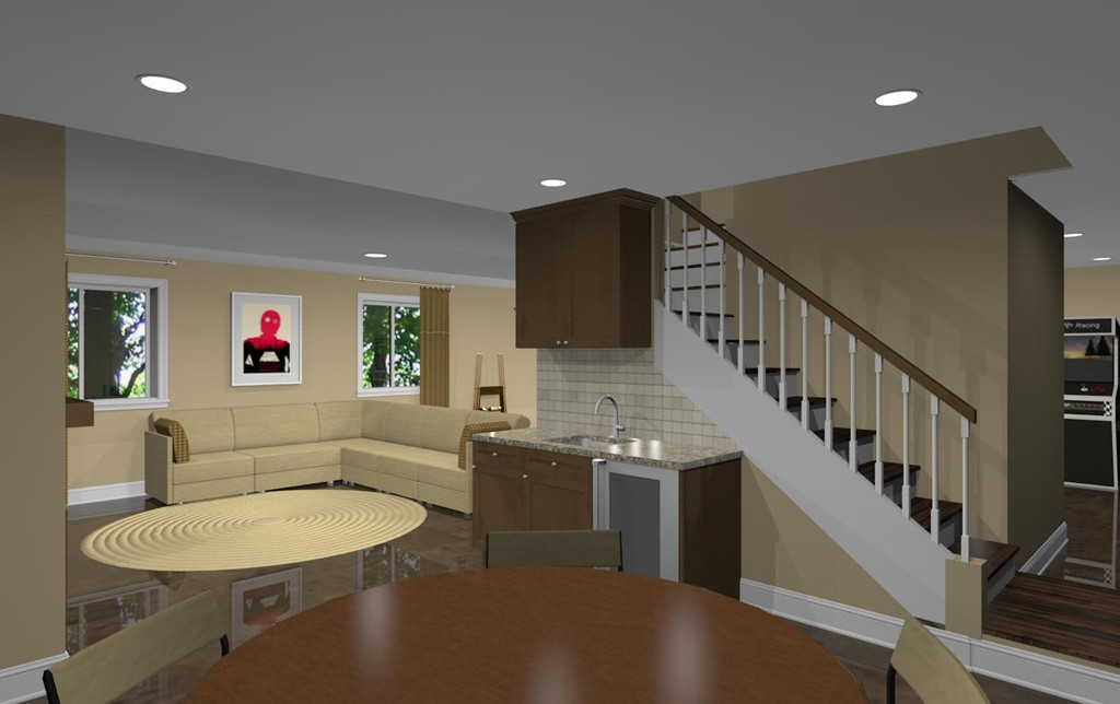 Basement Remodel Designs In Atlantic Highlands NJ 07716