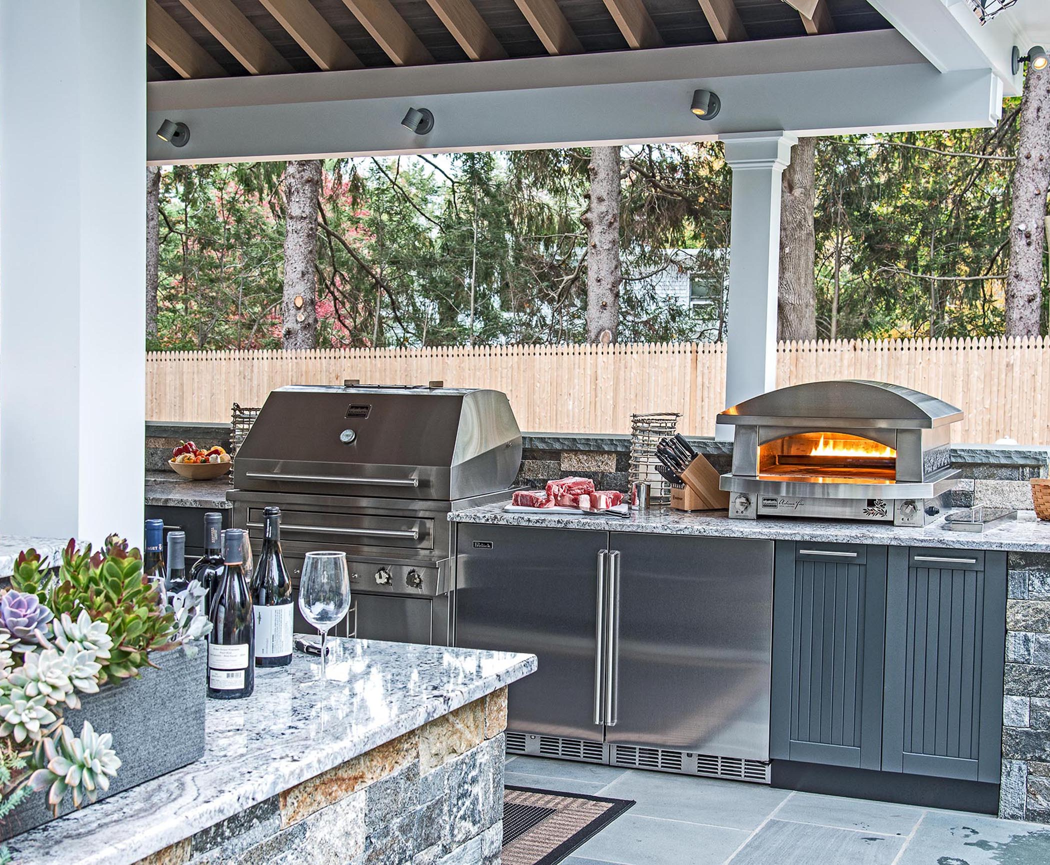 Outdoor Kitchen for Your Patio - Design Build Planners on Patio Kitchen id=46931