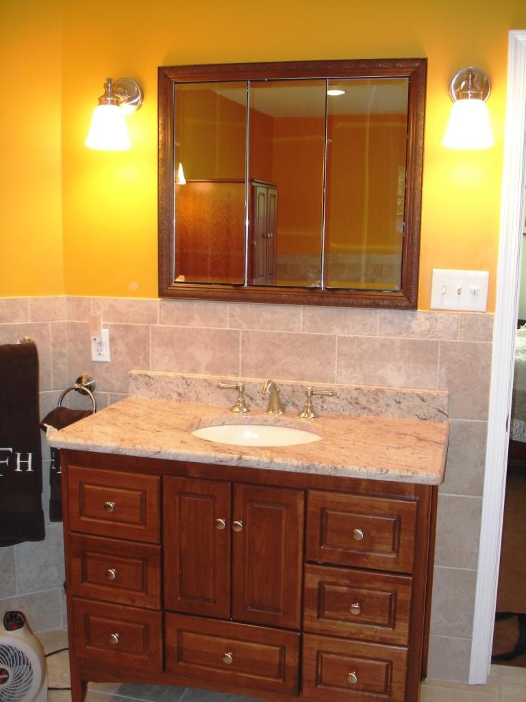 Furniture Style Bathroom Vanity - Design Build Planners on Furniture Style  id=62529