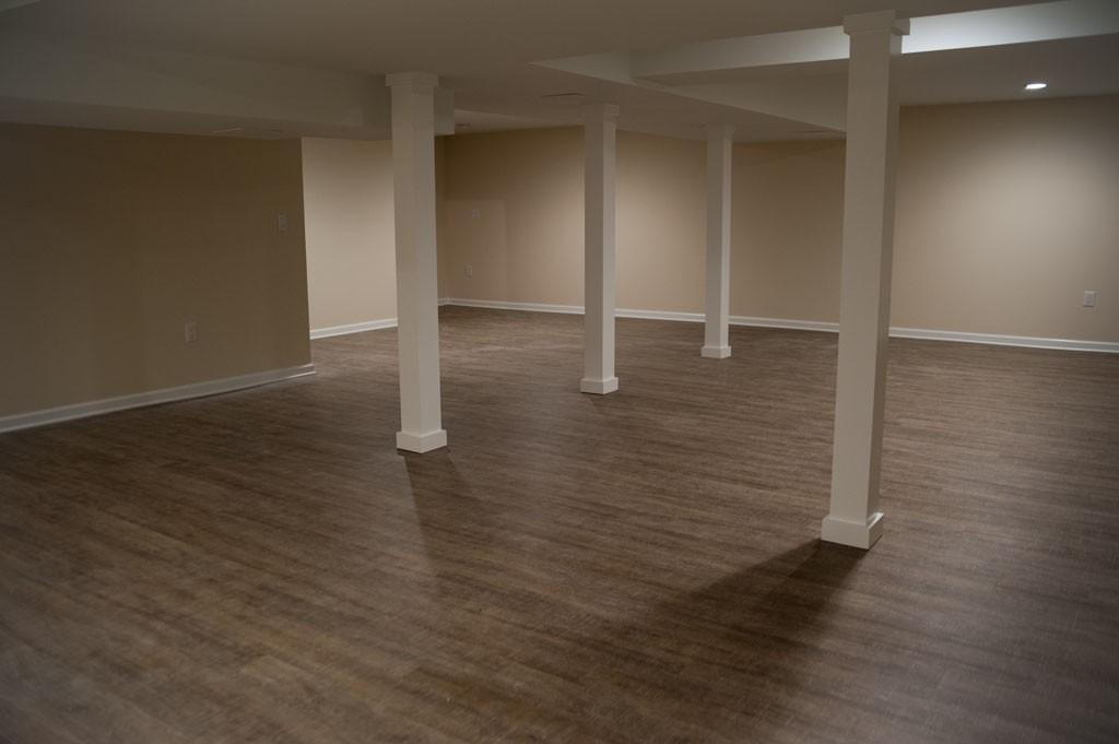 Simple Basement Remodel In Plainsboro, NJ