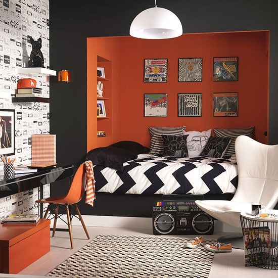 30 Awesome Teenage Boy Bedroom Ideas -DesignBump on Teenage Boy Room  id=62356