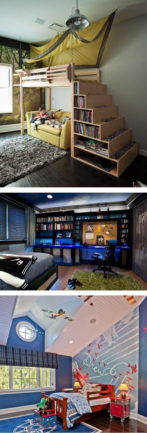 30 Awesome Teenage Boy Bedroom Ideas -DesignBump on Small Bedroom Ideas For Teenage Guys  id=77423
