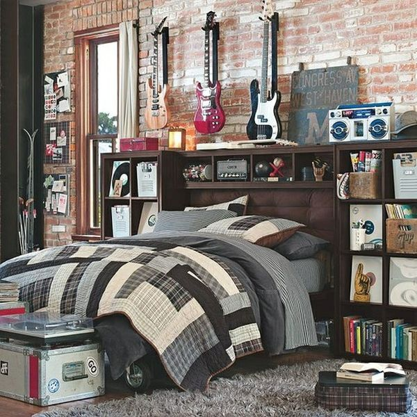 30 Awesome Teenage Boy Bedroom Ideas -DesignBump on Small Bedroom Ideas For Teenage Guys  id=57829