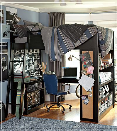 30 Awesome Teenage Boy Bedroom Ideas -DesignBump on Small Bedroom Ideas For Teenage Guys  id=60144