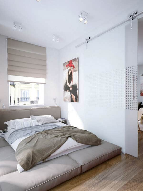 53 Small Bedroom Ideas To Make Your Room Bigger -Design Bump on Bedroom Ideas For Small Spaces  id=97949