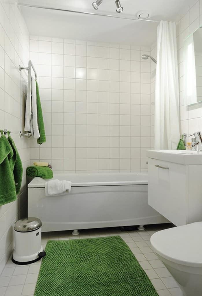 35 Stylish Small Bathroom Design Ideas -DesignBump on Small Bathroom Ideas Photo Gallery id=26020