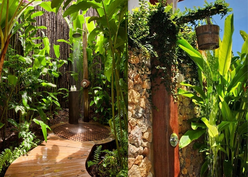 55+ Beautiful Outdoor Bathroom Ideas -DesignBump