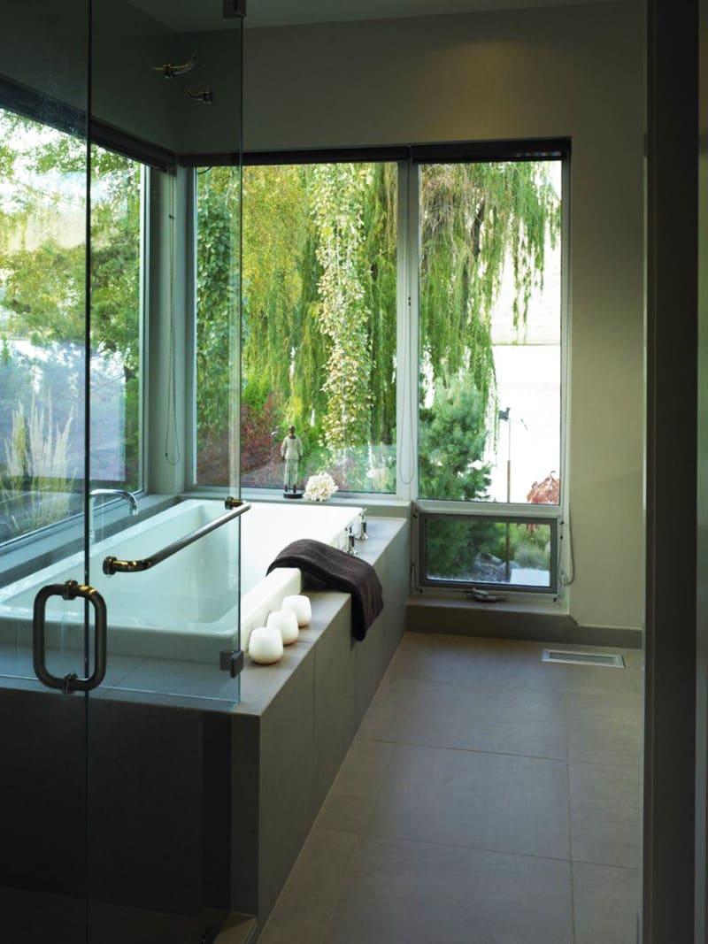 55+ Beautiful Outdoor Bathroom Ideas -DesignBump on Backyard Bathroom Ideas  id=44493