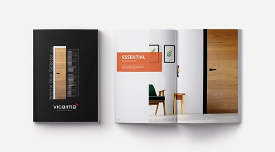 Image: Vicaima Brochure – Interior Door Selector (IDS) 2021