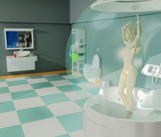 Aquatic Thermal Bathroom Purifies Your Body As Well As