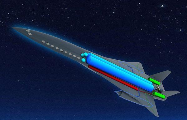 First hypersonic passenger jet