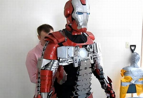 iron man mark v briefcase suit