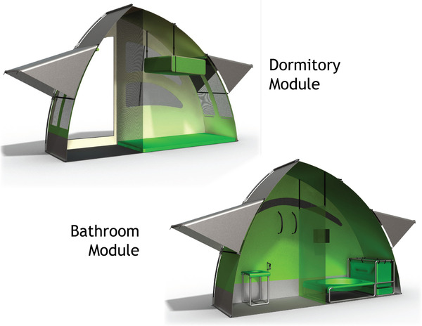 NIDO Portable Shelter offers safe refuge to the homeless ...