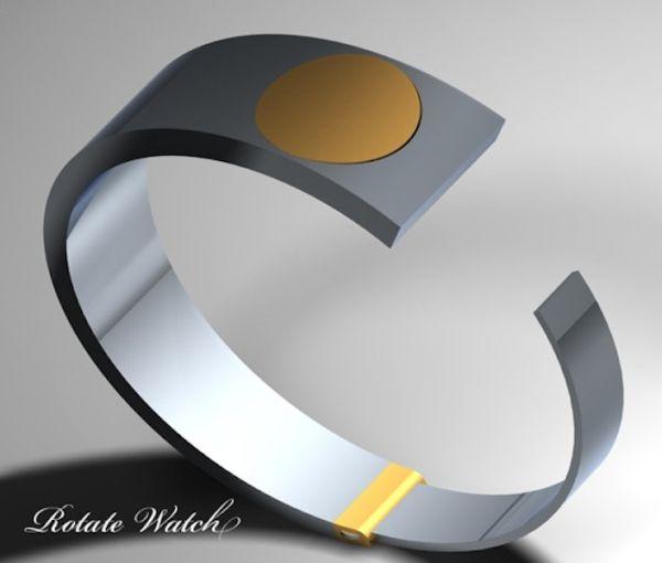 Rotate watch bracelet
