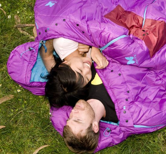 Sexy Hotness Sleeping Bag For Those Blissful Moments In