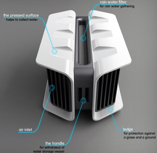 Water Making Machine Extracts Water From Thin Air Designbuzz