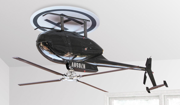 Unusual ceiling fan designs that will blow your mind designbuzz this design which is raffaele iannellos brain child is indeed one of the craziest ceiling fan designs that you will ever comes across mozeypictures Image collections