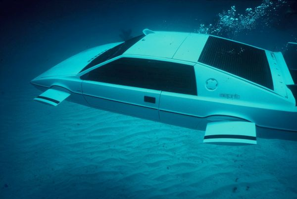 Lotus Esprit Submarine Car from The Spy Who Loved Me
