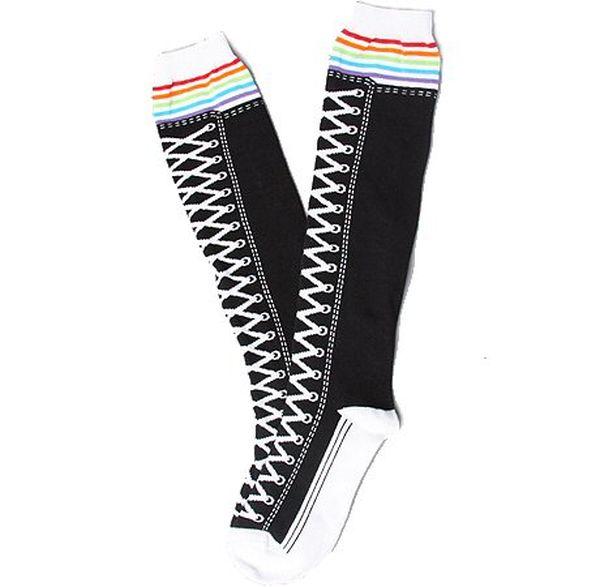 Knee-high Sneaker Socks