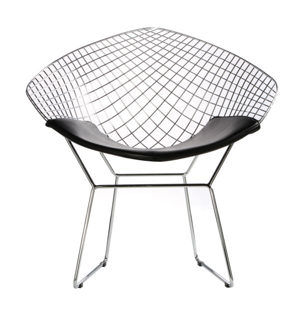 The Bertoia Diamond Chair