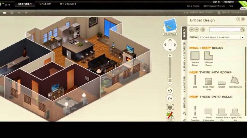 This Free Online Design Software Is Completely Loaded With All The Important Features It Gives You 3D Mode Of Display Configures Complete Interior