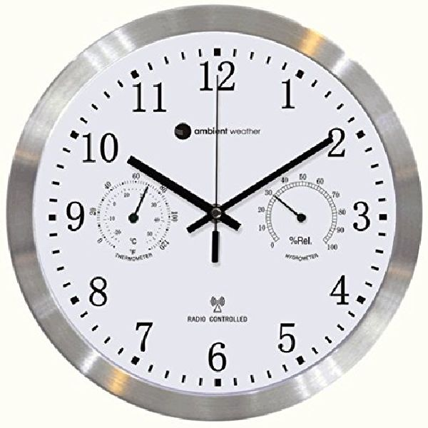 Unique Wall Clocks Part - 30: If You Are A Tech Savvy And Really Wish To Turn An Ordinary Clock Into An  Extraordinary Unique Wall Art With Radio-controlled Time; Then, This One  You Would ...