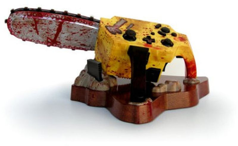 Resident Evil chainsaw controller