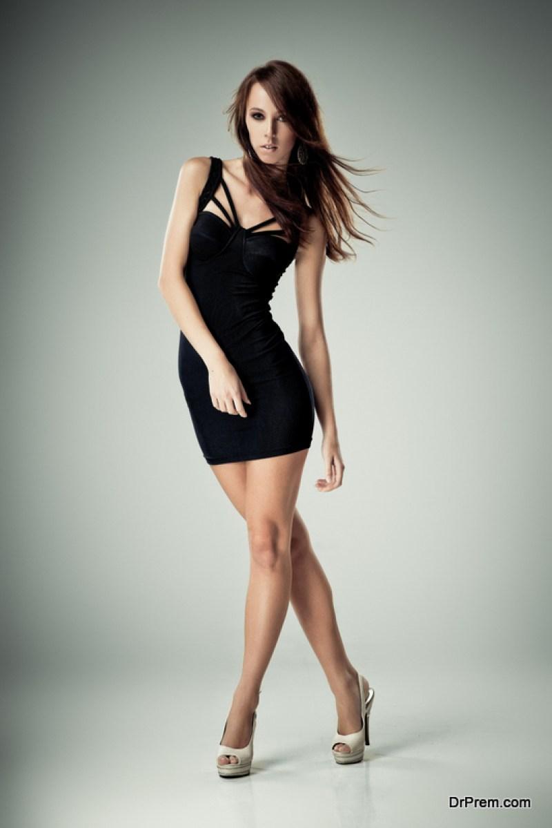 A black little dress