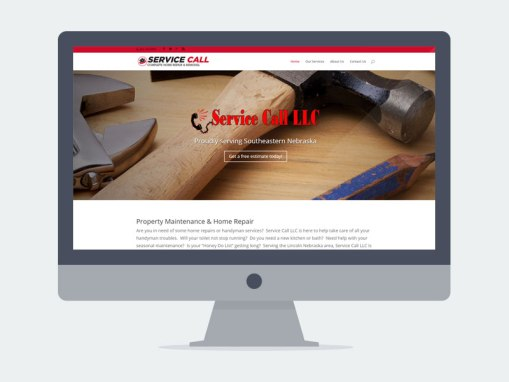 Lincoln NE Web Design and Development - servicecall