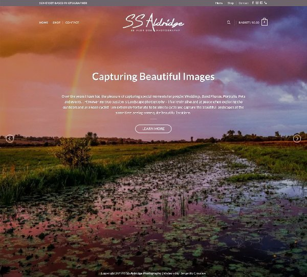 Sharon Aldridge Photography Design By Creative