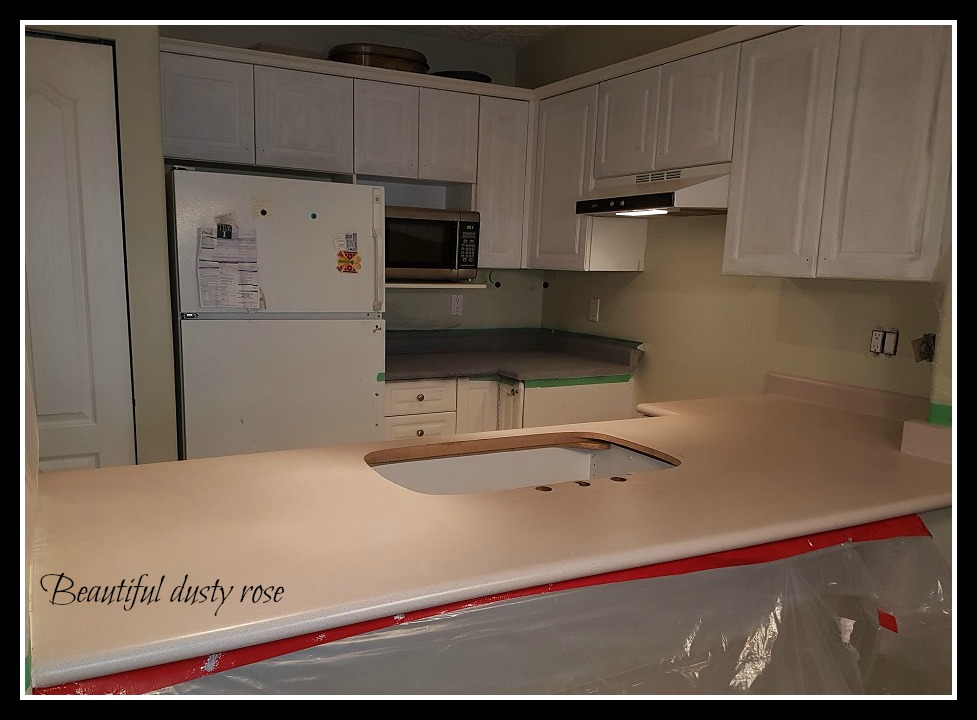 Envirotex Lite Epoxy On Kitchen Counters Over Make It Stone Paint