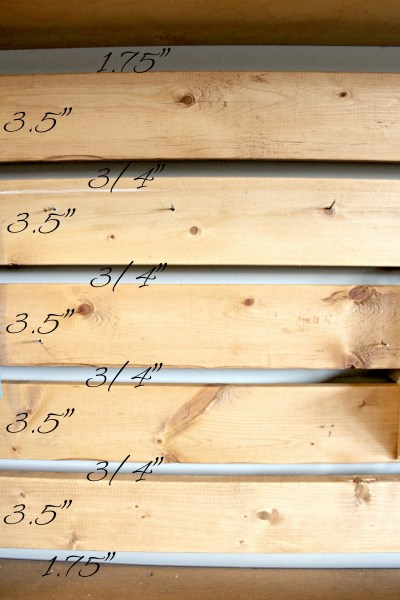 You can make this DIY slat wall for your garage in a day