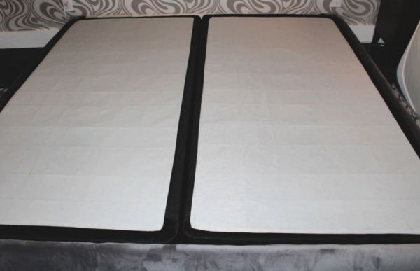 how to build an upholstered bed frame. diy upholstered bed frame from scratch with full instructions and measurements. #diybedframe