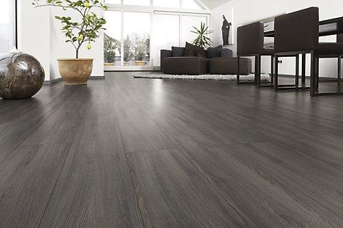 Shaded Oak Laminate flooring, Home depot, Greg's condo