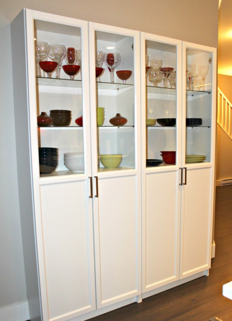 Ikea billy bookcase|Ikea pantry|kitchen pantry|Ikea cabinets|oxberg doors|Ikea hack|additional kitchen storage