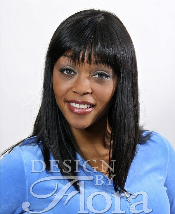 Flora Human Hair Wigs Model Bobbi Kitchen Wig Design