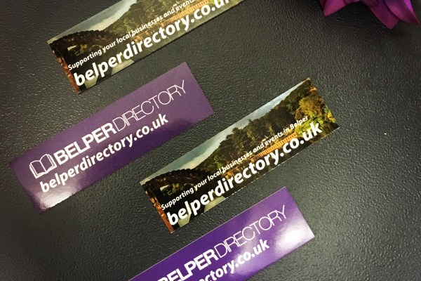 Belper Directory Business Cards