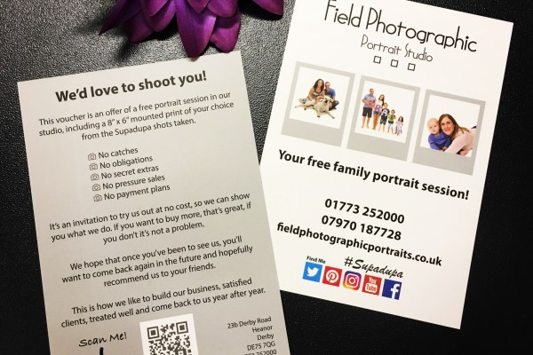 Field Photographic Portrait Leaflets