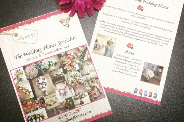 A5 Leaflets – Twisted Willow Florist