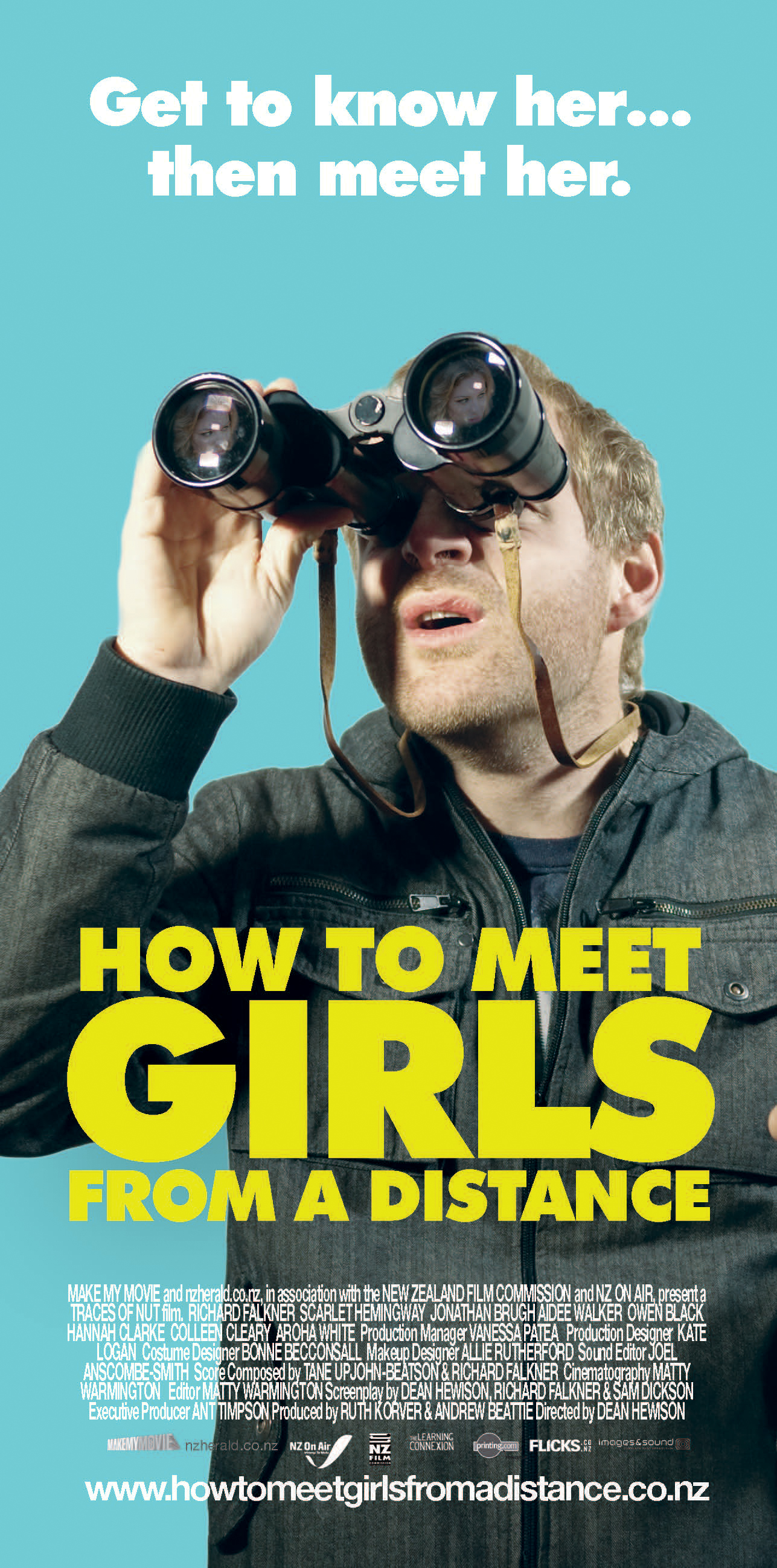 Poster do filme How to meet girls from a distance