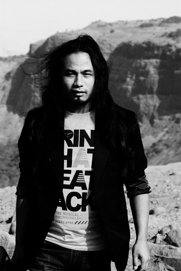 Photoshoot for Guitarist Silman Marak
