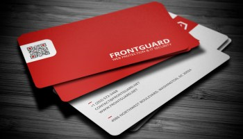 Showcase of 30 creative black business cards designs designcanyon 20 stunning red business cards design reheart Images