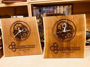 周年記念 木製時計