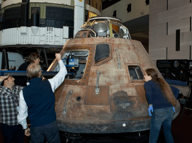 Apollo 11 being 3D Digitised