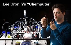 "Lee Cronin com o ""chemputer"""