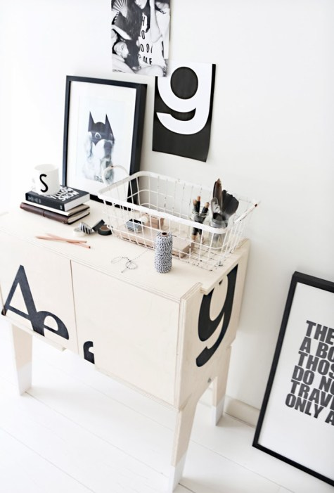 Black & White Decor 14