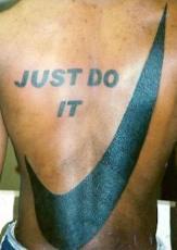 tatoo nike