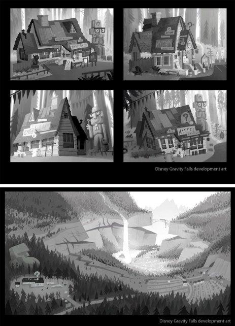 GravityFalls-conceptart-IanWorrel-02