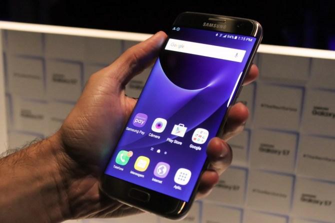 TouchWiz do Galaxy S7 / © Design Culture