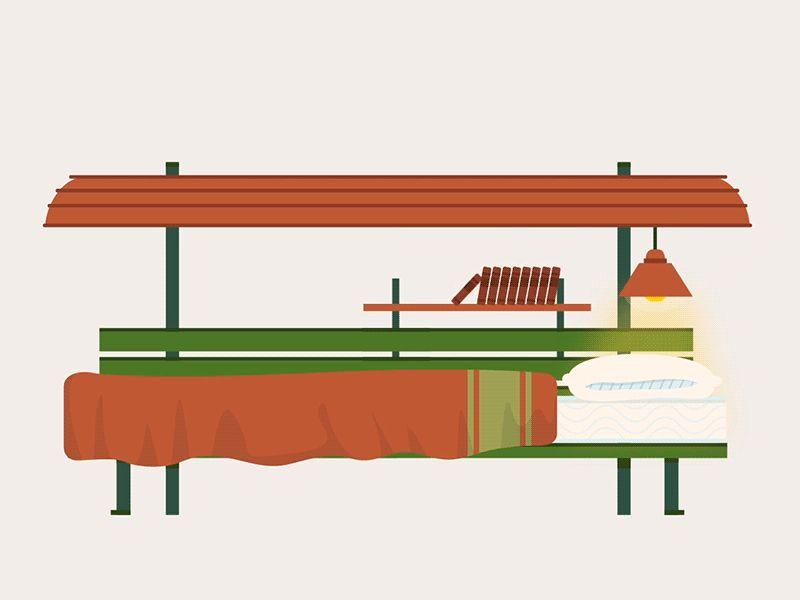 Homeless Bench por Lucas Marinm